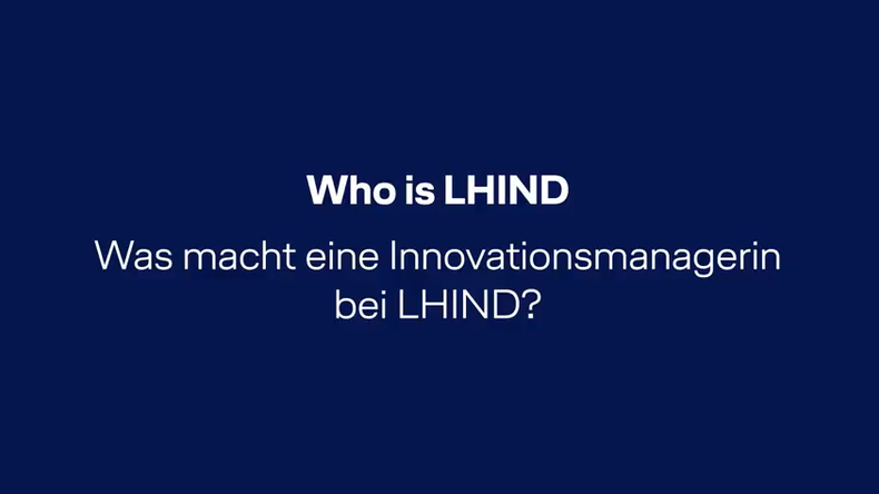 Kristina Haars, Innovationsmanagerin bei LHIND