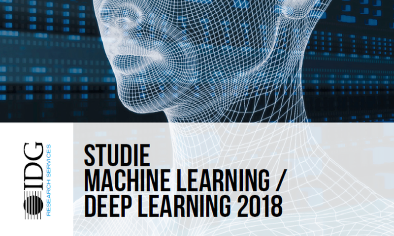 IDG study on machine learning 2018: information and PDF